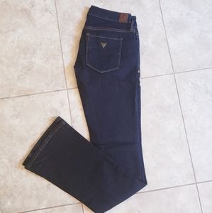 New condition Guess jeans boot ultra low